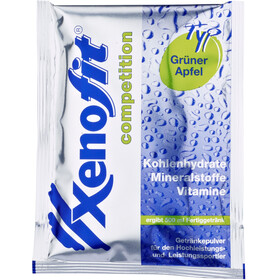Xenofit Competition Carbohydrate Drink Portionsbeutel Grüner Apfel 5 x 42g